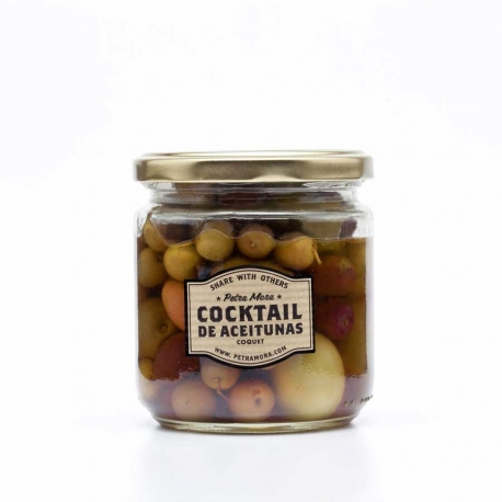 Cocktail de aceitunas