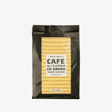 Café Colombia tueste natural 250 g