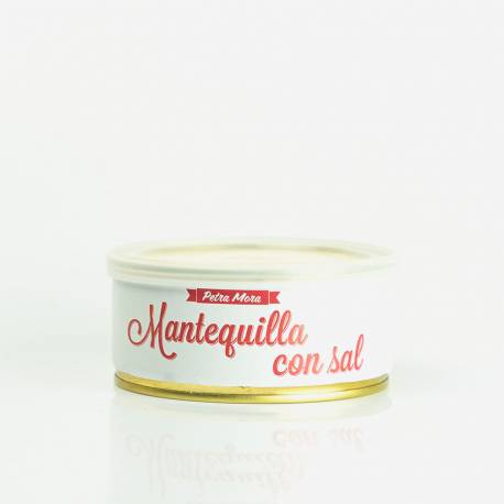 Mantequilla con sal