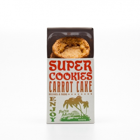 Super cookies carrot cake conn avena y coco