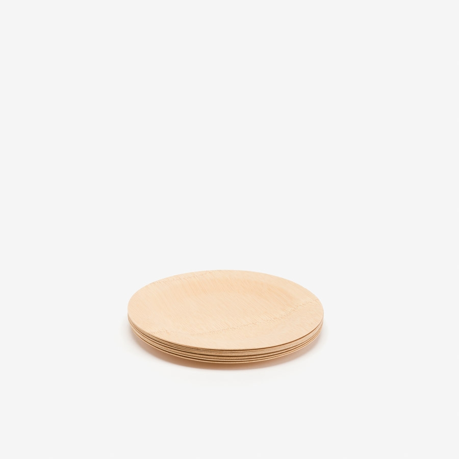 Plato bamboo color natural D.17,5 cm de Fiorira