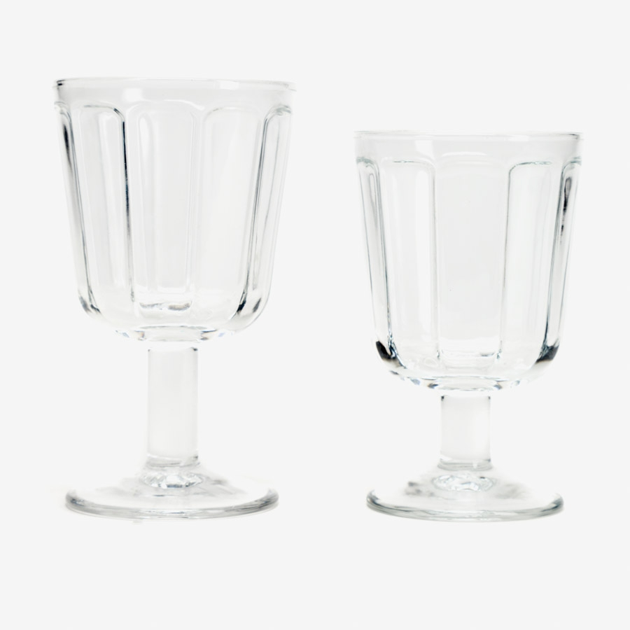 Set 4 copas de vino blanco Serax. Col. Surface