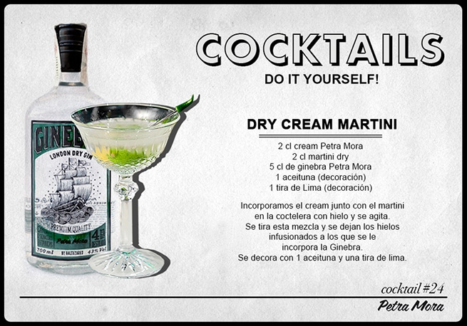 Cocktail Dry Cream Martini