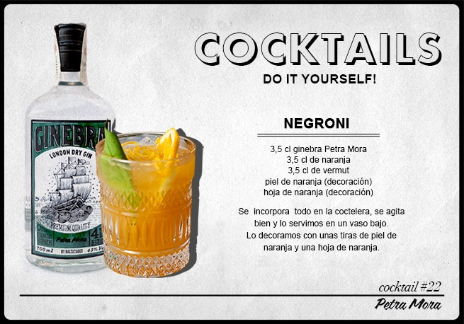 Petra Mora Cocktail Negroni